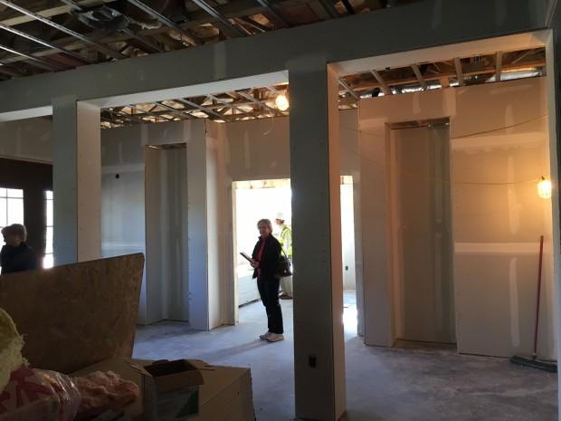 13 Apr 2016 front hall toward Leadership Training