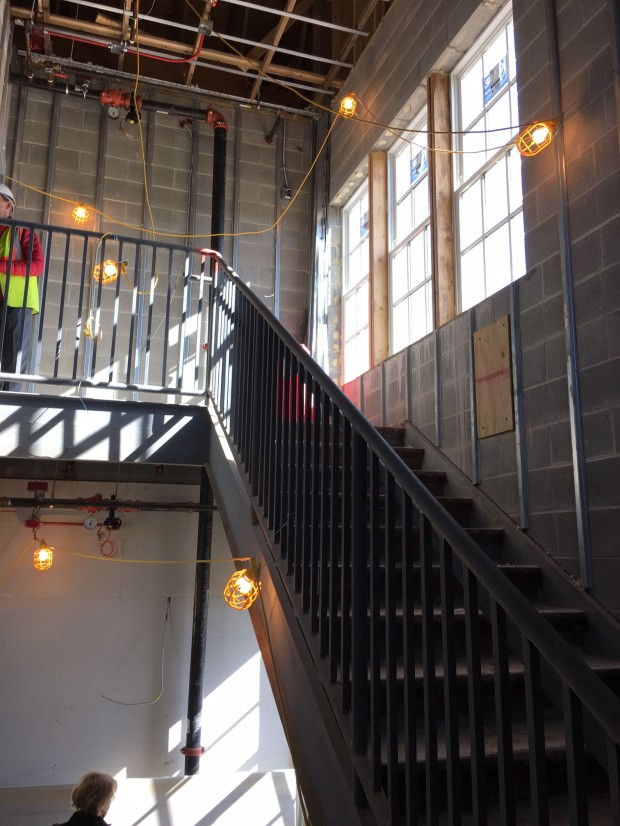 13 Apr 2016 top of stairwell
