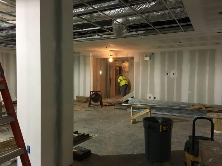 13 April 2013 great room to hallway