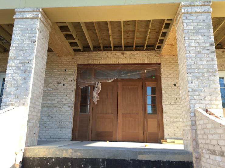 3 April 2016 front door