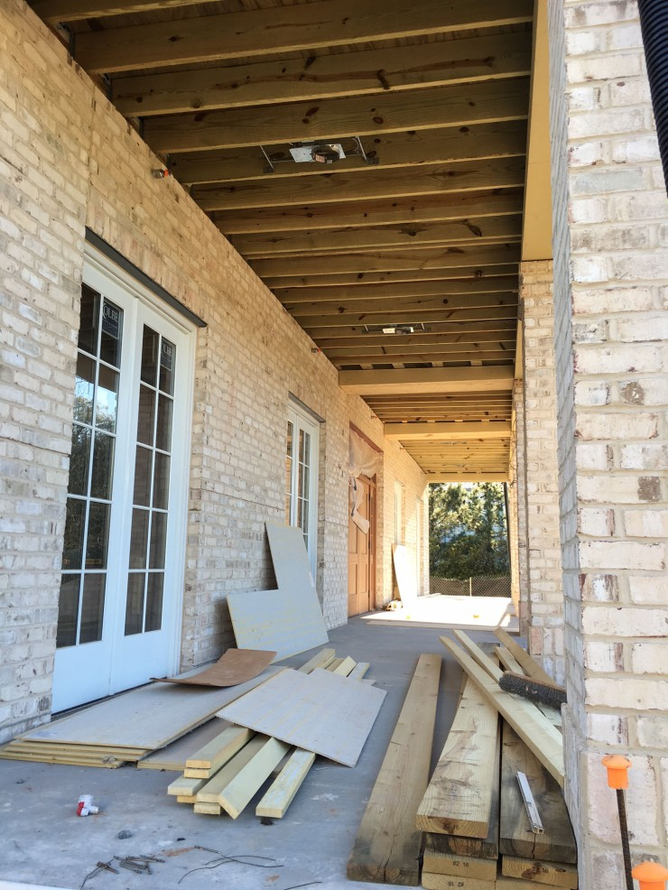3 April 2016 front porch from KD side
